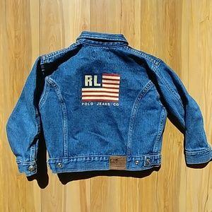 Vintage Ralph Lauren Polo Jeans Co denim jacket 4T